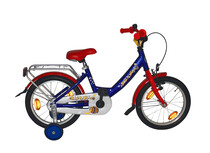 Balou Kinderfiets 18 Inch Wave-Type blauw